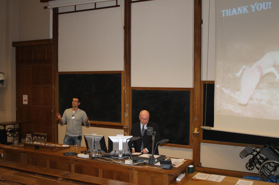 Dušan Jelić ispred Hyle održao predavanje u Cambridgeu
