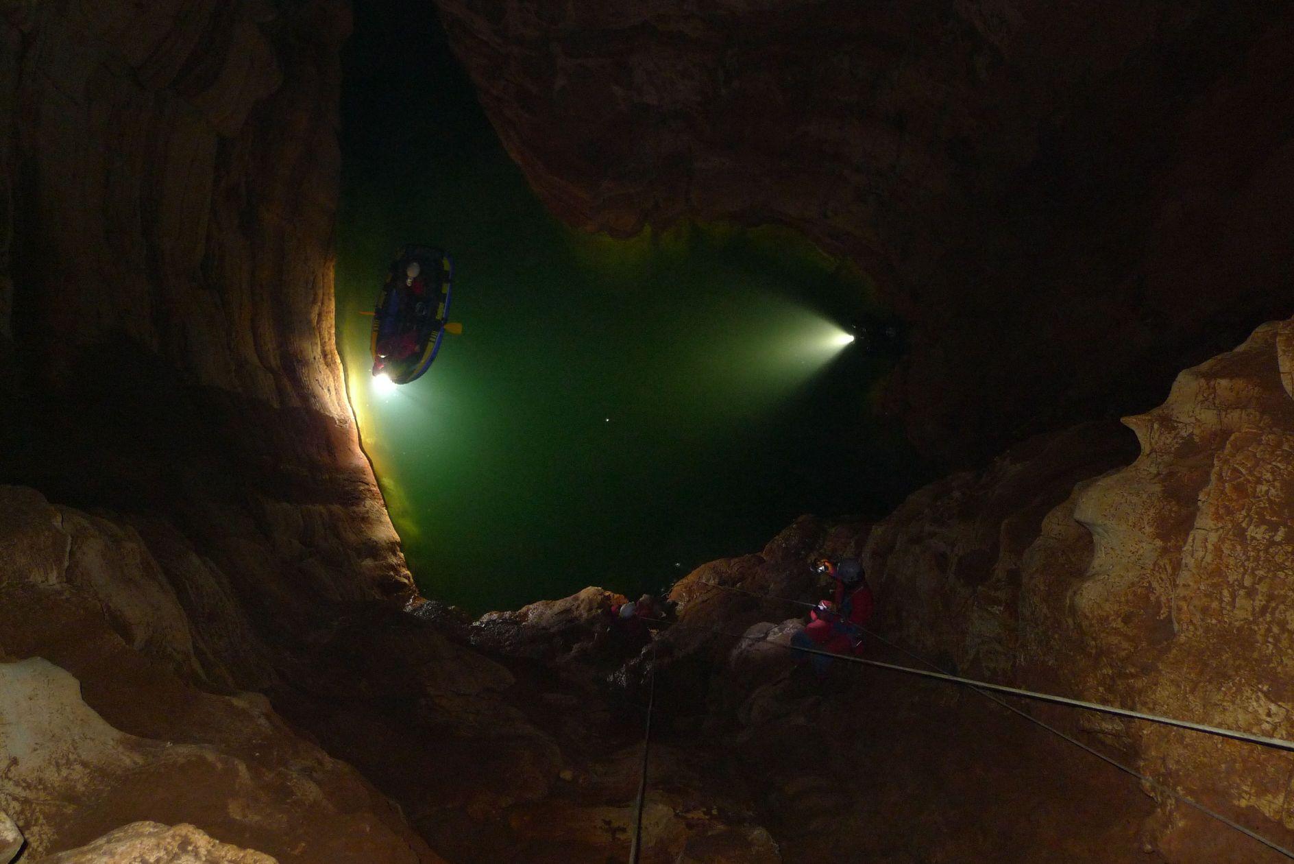 Drugi monitoring čovječje ribice u Picinovoj jami u Istri