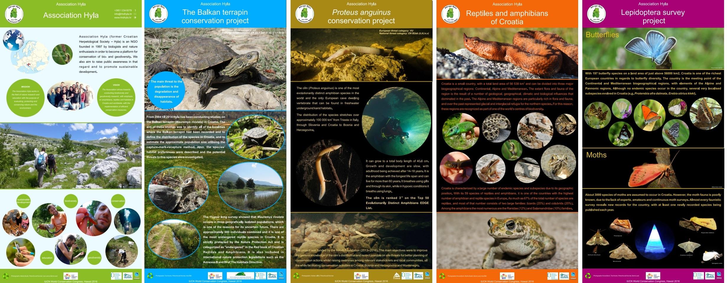Posteri za IUCN kongres 2016
